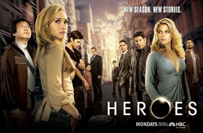 La locandina di Heroes