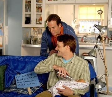 Will Arnett e Will Forte in una sequenza de I fratelli Solomon