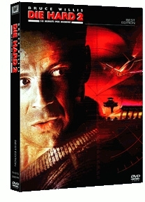 La copertina DVD di Die Hard 2 - 58 minuti per morire - Best edition