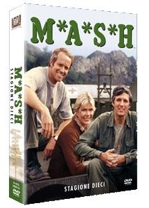 La copertina DVD di M.A.S.H. - stagione 10