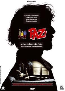 La copertina DVD di Paz! - Nuova edizione