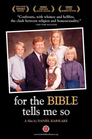La locandina di For the Bible Tells Me So