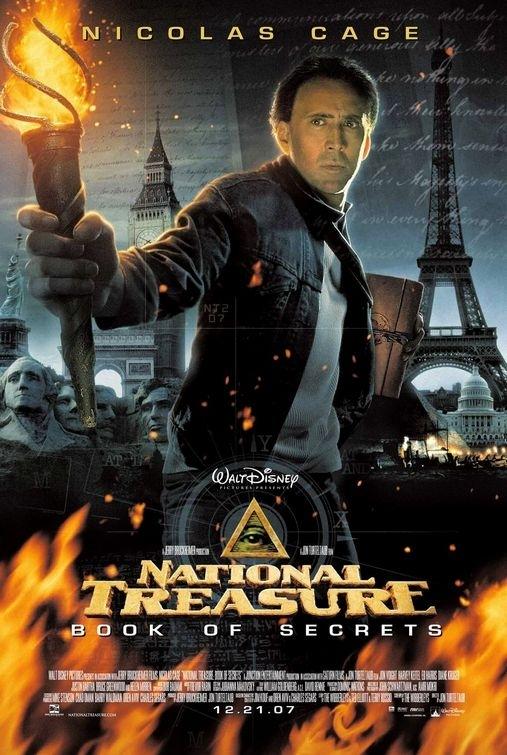 La locandina di National Treasure II: The Book of Secrets