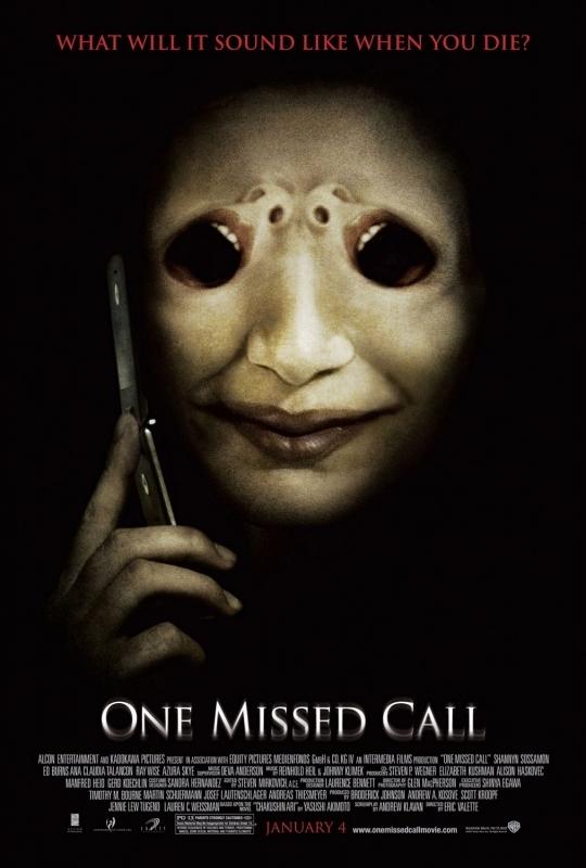 La locandina di One Missed Call