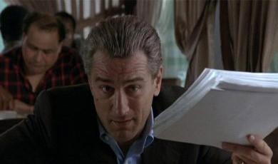 Robert De Niro in una scena del film Quei bravi ragazzi
