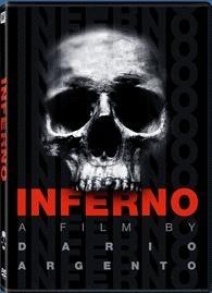 La copertina DVD di Inferno