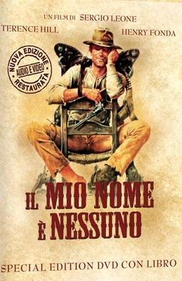 La copertina DVD di Il mio nome è Nessuno - Edizione Speciale (DVD + Libro)
