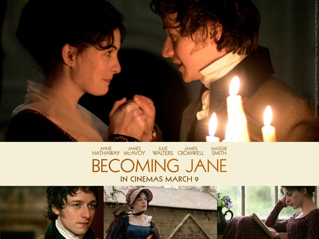 Wallpaper del film Becoming Jane - Il ritratto di una donna contro
