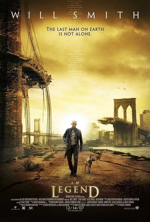 Il manifesto di I Am Legend