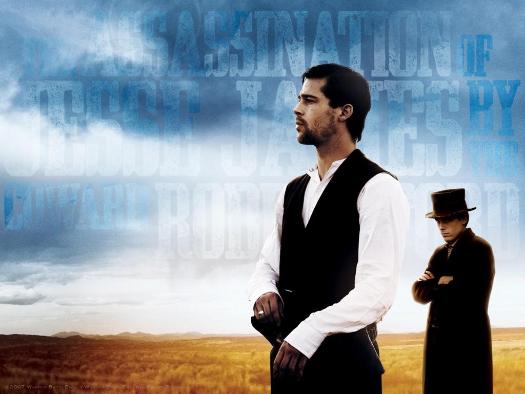 Wallpaper del film L'assassinio di Jesse James per mano del codardo Robert Ford