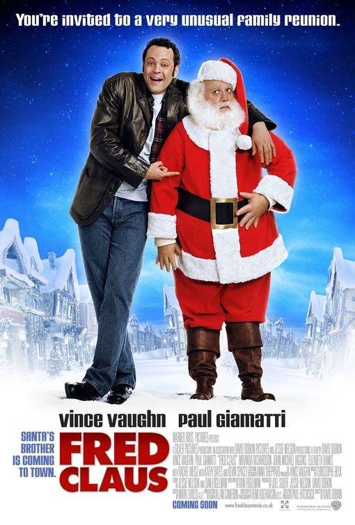 un poster di Fred Claus