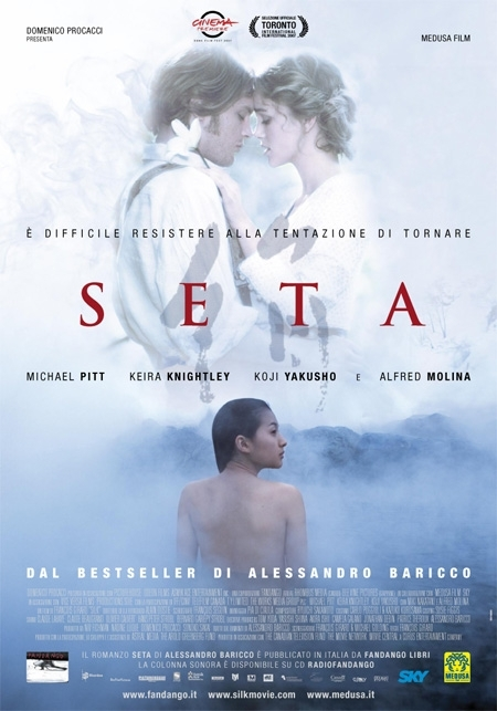 La locandina italiana di Seta