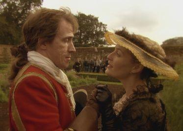 Steve Coogan e Gillian Anderson in una scena di A Cock and Bull Story