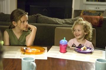 Iris e Maude Apatow in una scena di Molto incinta