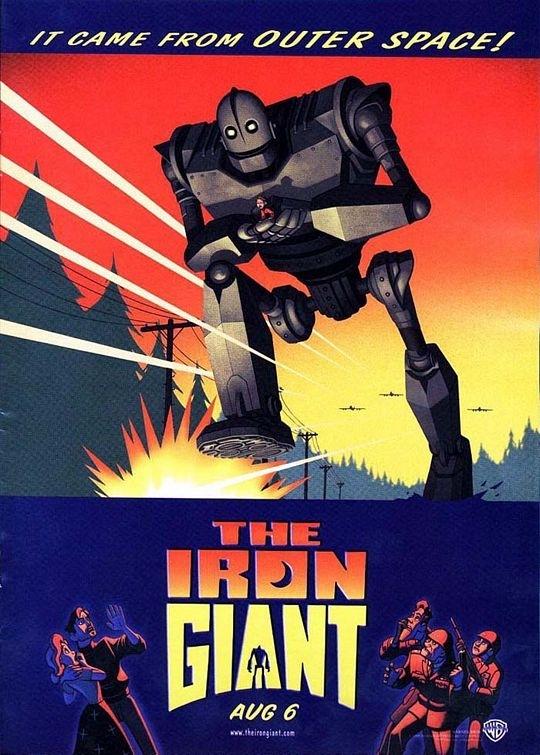 La locandina di Il gigante di ferro