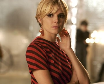 Una splendida Sienna Miller in una scena del film Factory Girl