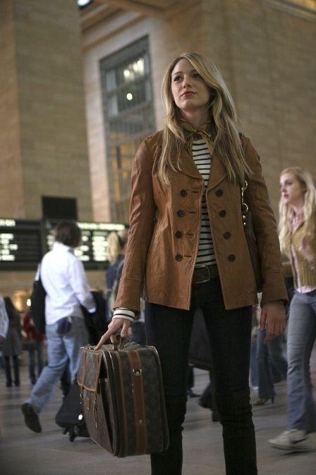 Blake Lively in una scena della serie Gossip Girl