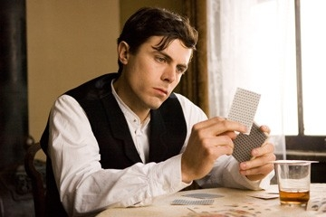 Casey Affleck in una immagine di The Assassination of Jesse James