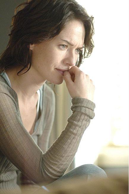 Lena Headey in una scena di Sarah Connor Chronicles