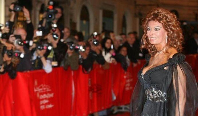 Festa del Cinema  2007:  Sophia Loren