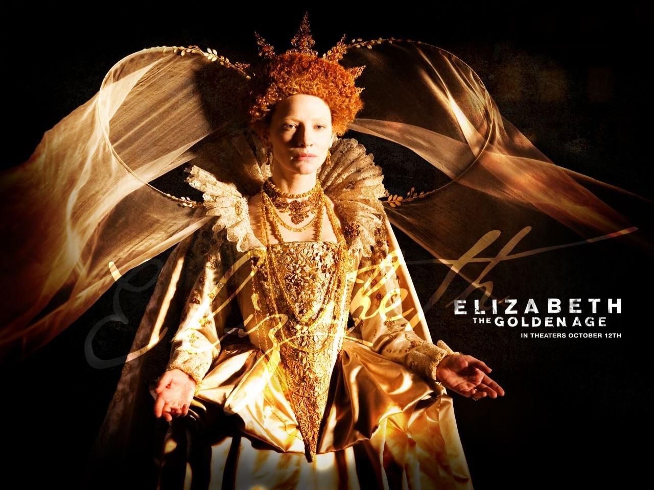 Wallpaper del film Elizabeth: The Golden Age con Cate Blanchett