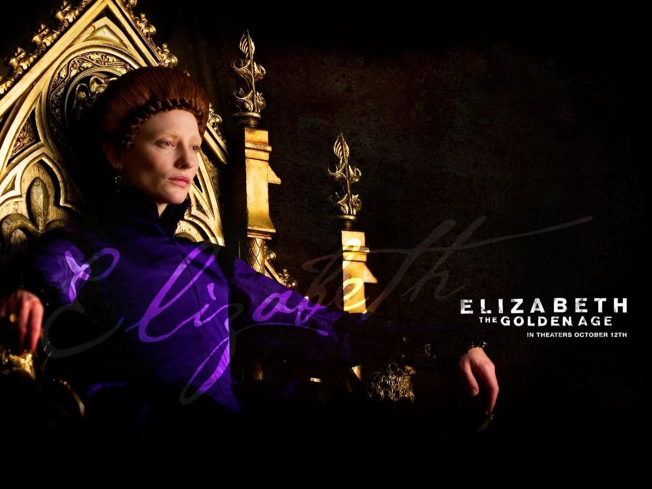 Wallpaper del film Elizabeth: The Golden Age con C. Blanchett
