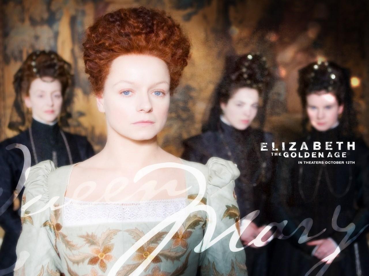 Wallpaper del film Elizabeth: The Golden Age con Samantha Morton