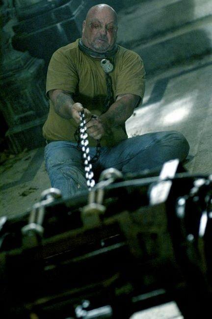 Un'immagine tratta dal film Saw 4