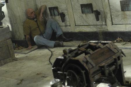Una sequenza del film Saw 4
