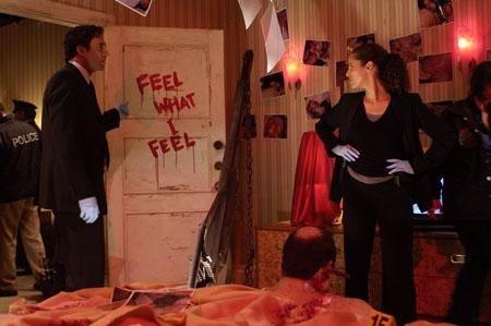 Un'immagine tratta dall'horror Saw 4