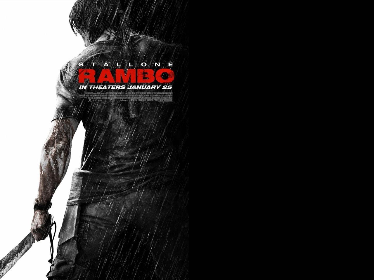 Wallpaper del film John Rambo, quarto capitolo della saga