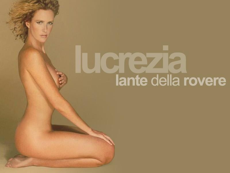 Wallpaper di Lucrezia Lante della Rovere senza veli