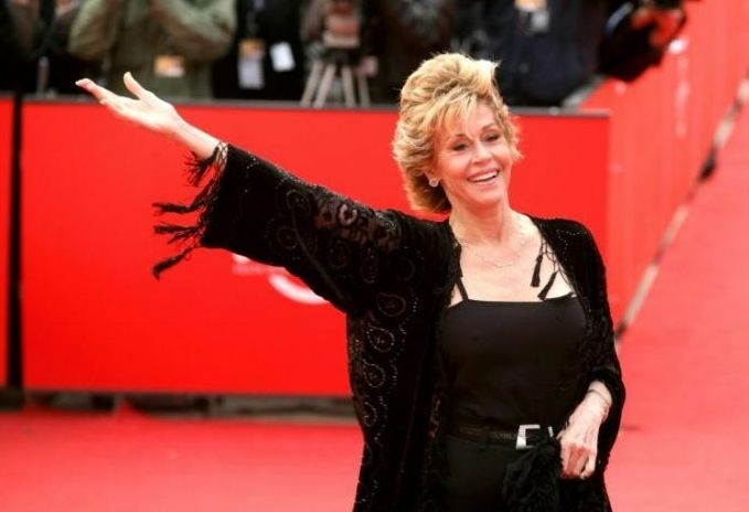 Jane Fonda alla Festa del Cinema di Roma 2007