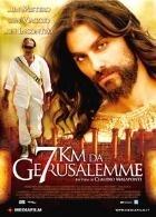 La copertina DVD di 7 km da Gerusalemme