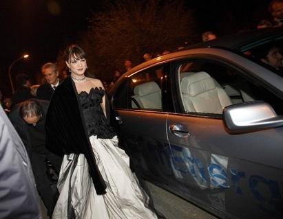 Festa del Cinema di Roma 2007: Asia Argento alla premiere del film La terza madre