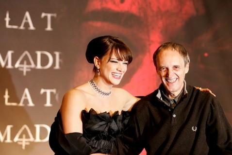 Festa del Cinema di Roma 2007: Asia e Dario Argento alla premiere de La terza madre