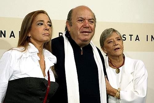 Festa del Cinema di Roma 2007: Diana e Liliana De Curtis presentano Un principe chiamato Totò insieme a Lino Banfi