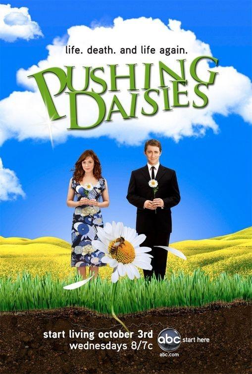 La locandina della serie televisiva Pushing Daisies