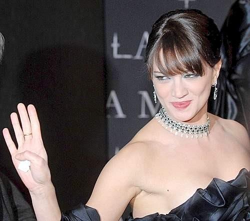 Festa del Cinema di Roma 2007: Asia Argento alla premiere dell'horror La terza madre