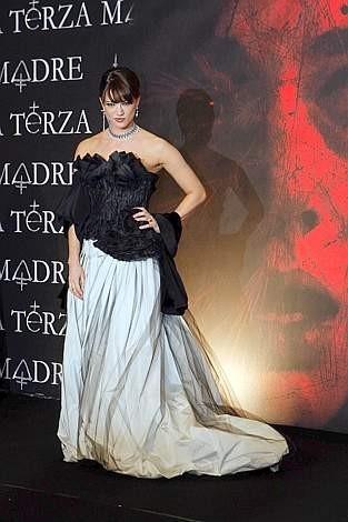 Festa del Cinema di Roma 2007: Asia Argento alla premiere de La terza madre