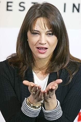 Festa del Cinema di Roma 2007: Asia Argento incontra la stampa in occasione della presentazione de La terza madre