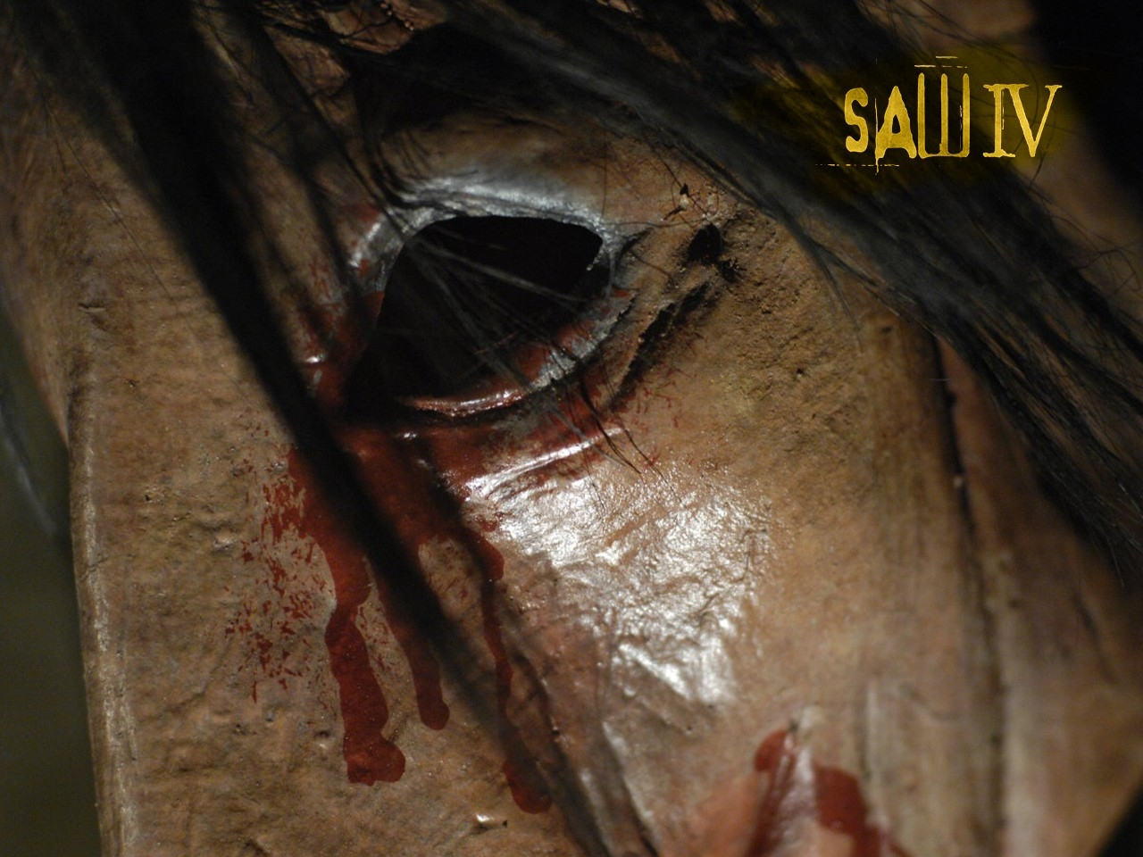 Un desktop wallpaper del film Saw 4