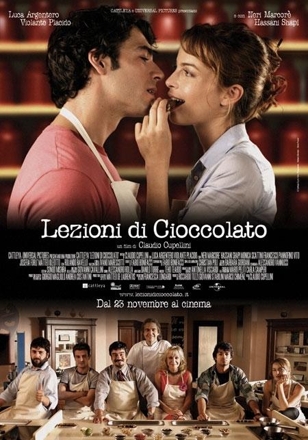 La locandina di Lezioni di cioccolato