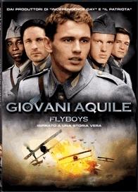 La copertina DVD di Giovani Aquile - Flyboys