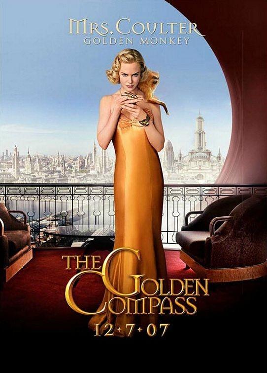 Una delle locandine di Queste oscure materie: La bussola d'oro - Mrs. Coulter