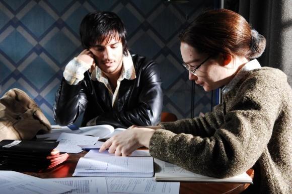 Cristiana Capotondi accanto a Nicolas Vaporidis in una scena di Come tu mi vuoi