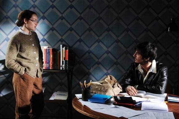 Cristiana Capotondi e Nicolas Vaporidis in una scena di Come tu mi vuoi, del 2007