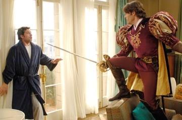 James Marsden e Patrick Dempsey in una scena di Come d'incanto