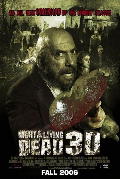 La locandina di Night of the Living Dead 3D