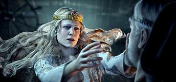 Una scena del film La leggenda di Beowulf (2007)